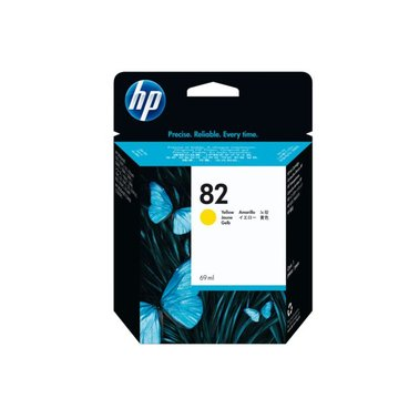 Inkcartridge HP C4913A 82 geel