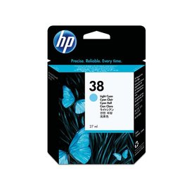 Inkcartridge HP C9418A 38 lichtblauw