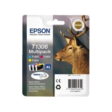 Inkcartridge Epson T1306 3 kleuren XL