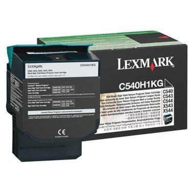 Tonercartridge Lexmark C540H1KG prebate zwart HC