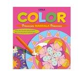 Kleurboek Deltas crea color prinsessen mandala