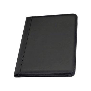 Schrijfmap Rillstab A4 Bern insteekvak Ipad leer zwart