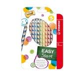 Kleurpotloden Stabilo Easycolor linkshandig 12stuks assorti