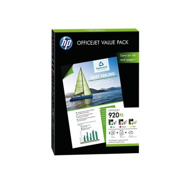 Inkcartridge HP CH081AE 920XL 50vel A4 + 3 cartridges