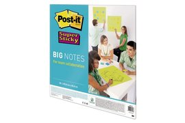 Scrum Big Notes 3M Post-it 55.8x55.8cm neon groen