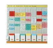 Planbord Nobo week 8 panelen met 24 sleuven nr.2