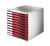 Ladenbox Leitz 5281 10 laden rood