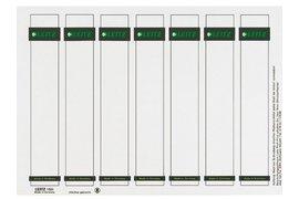 Rugetiket Leitz PC printbaar 1681 31x190mm smal wit