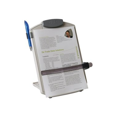 Documentenhouder Quantore + leesliniaal lichtgrijs