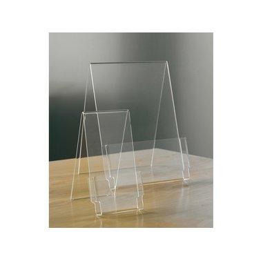 Folderhouder Opus2 A6 staand glashelder