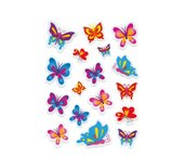 Etiket Herma 6088 magic vlinder stone 17stuks