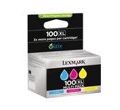 Inkcartridge Lexmark 14N0850 100XL 3 kleuren HC