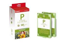 Inkjetpapier Canon E-P100 10x15cm + Inkcartridge 100vel