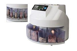Geldtelmachine Safescan 1200 voor munten grijs