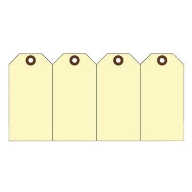 Label karton nr3 200gr 45x90mm geel 1000stuks