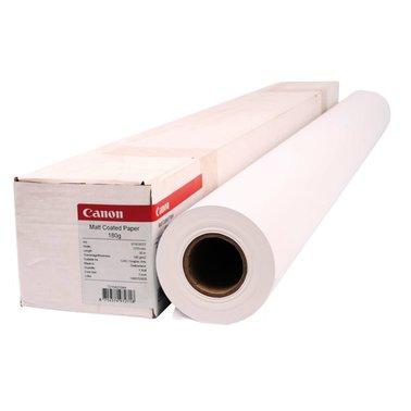 Inkjetpapier Canon 1270mmx30m 180gr mat gecoat