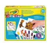 Stickerpuzzel Crayola minikids 56-delig