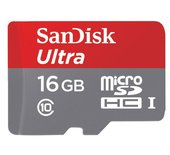 Geheugenkaart Sandisk Micro SDHC Class10 Android 16GB
