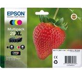 Inkcartridge Epson 29XL T2996 zwart + 3 kleuren