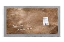 Glasbord Sigel magnetisch 910x480x15mm brons