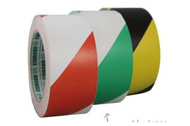 Markeringstape 55mmx33m rood/wit