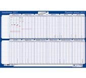 Projectplanner 2017 Legamaster 60x90cm papier oprolbaar