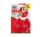Fotolijmroller Pritt Compact permanent 2ehalve prijs blister