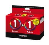 Inkcartridge Lexmark 80D2955 1 kleur 2x