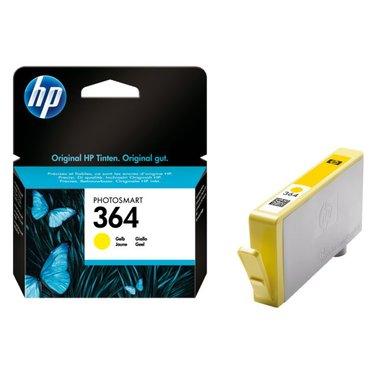 Inkcartridge HP CB320EE 364 geel