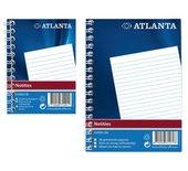 Notitieboek Atlanta 2104012600 330x205mm met zijspiraal