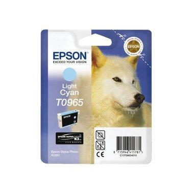 Inkcartridge Epson T0965 lichtblauw