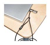 Beveiligingsset Kensington ultra laptop lock metaal/zwart