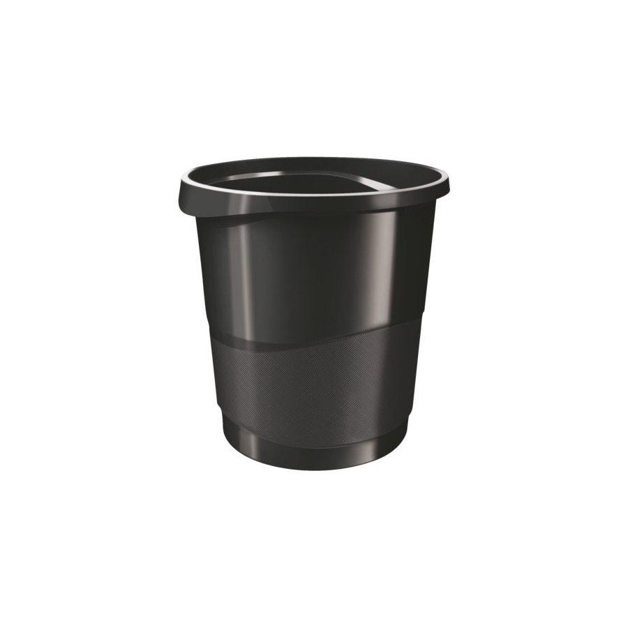 Papierbak esselte vivida 14liter zwart all office van lint for Ladenblok hangmap