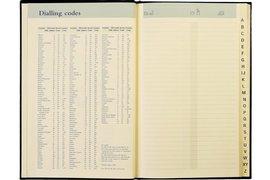 Adresboek notaphone palermos piraal zwart