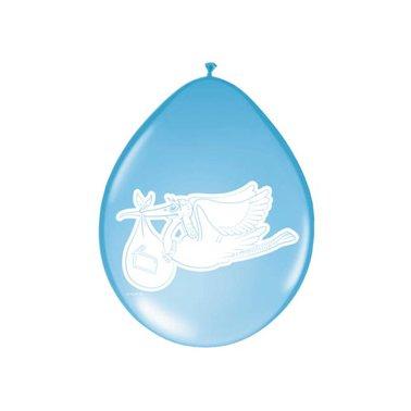 Ballonnen Folat baby jongen 8stuks 30cm