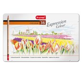 Kleurpotloden Bruynzeel Expression 7705 blik 36stuks assorti