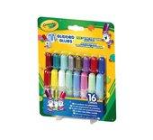 Glitterlijm Crayola 16 stuks mini assorti