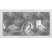 Glasbord Sigel magnetisch 910x480x15mm zilver