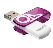USB-stick 2.0 Philips Vivid 64GB paars