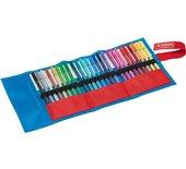 Viltstift Stabilo Fan Edition blauw assorti 25 stuks