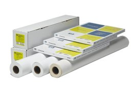 Inkjetpapier HP Q1427B 914mmx30.5m 190gr foto glans