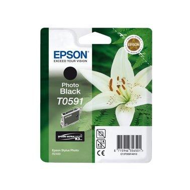 Inkcartridge Epson T059140 foto zwart