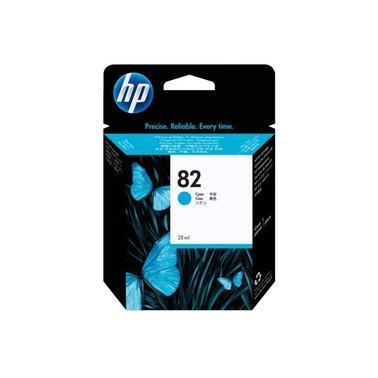 Inkcartridge HP CH566A 82 blauw