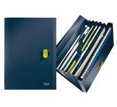 Sorteermap Leitz 4624 recycle 6-vaks donkerblauw