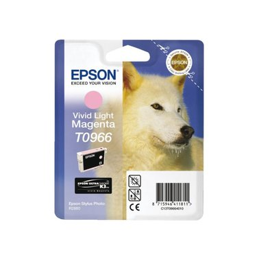 Inkcartridge Epson T0966 lichtrood