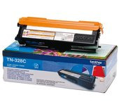 Tonercartridge Brother TN-328C blauw