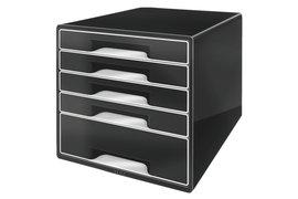 Ladenblok Leitz 5253 Cube 5 laden zwart
