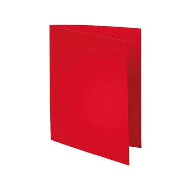 Vouwmap Exacompta foldyne A4 180gr rood