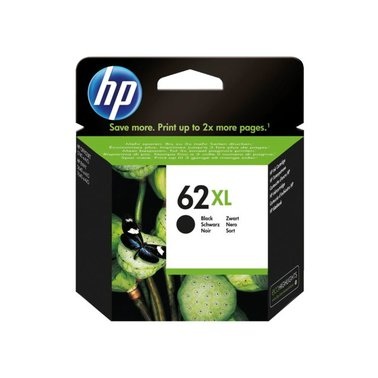 Inkcartridge HP C2P05AE 62XL zwart HC