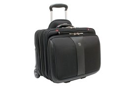 "Laptoptas Trolley Wenger Patriot 17"" zwart"